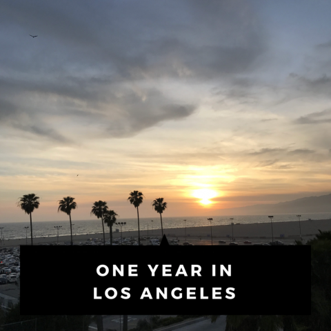 One Year in Los Angeles