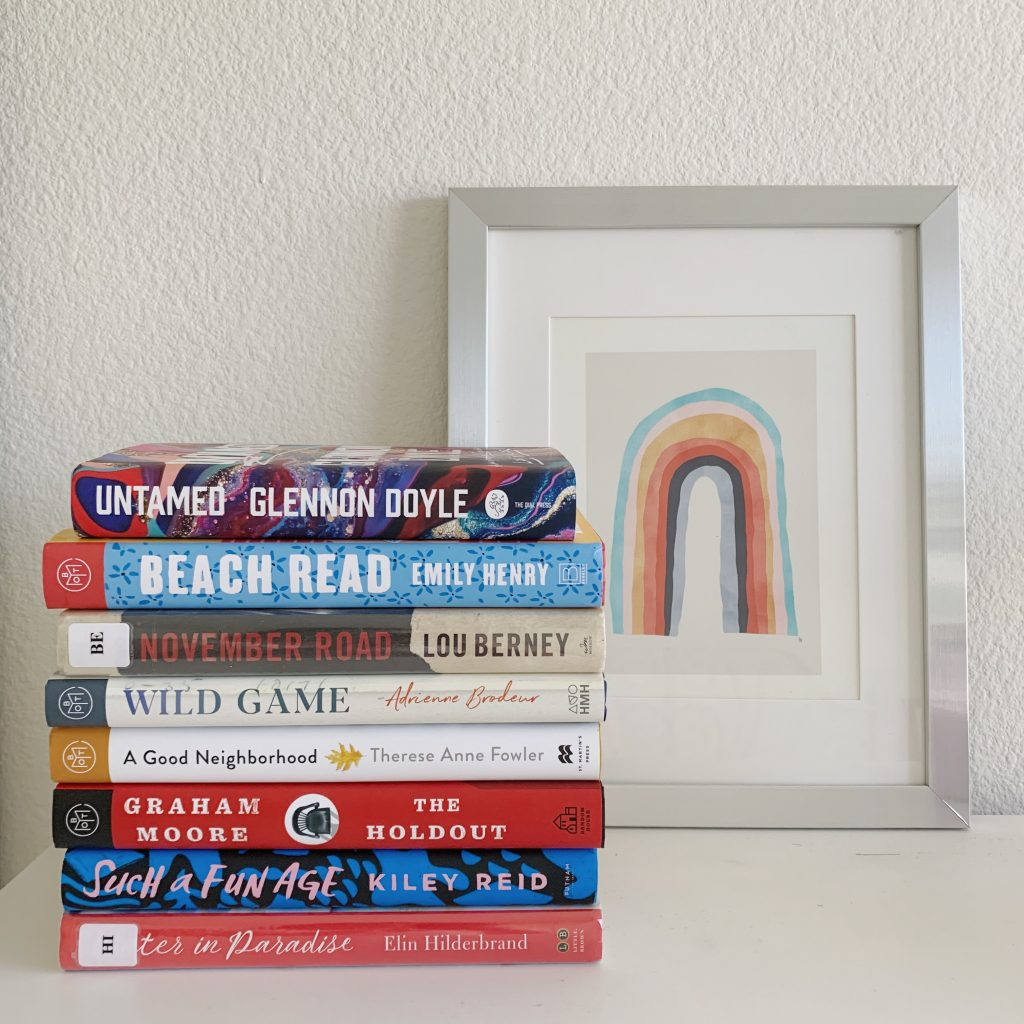 All the books I read in April 2020!